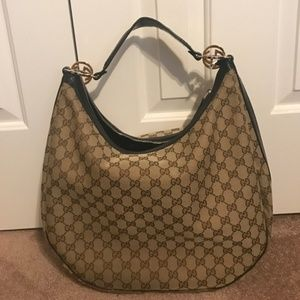 100% Authentic Gucci GG Large Hobo Bag!